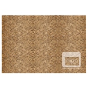 Hip-O Modern Living Hand-Woven Teak Indoor/Outdoor Area Rug