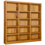 Concepts in Wood 72'' Standard Bookcase; Dry Oak
