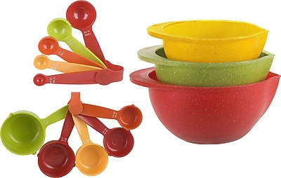 Trudeau Corporation 13 Piece Measuring and Mixing Bowl Set WYF078279590013