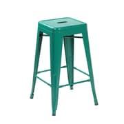 United Chair Industries LLC 26.4'' Bar Stool (Set of 2); Matte Green