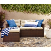 Varick Gallery Icarus 3 Piece Deep Seating Group w/ Cushion