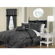Soho New York Lorenzo 8 Piece Comforter Set; King
