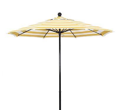 California Umbrella 9' Market Umbrella; Classic WYF078279452675