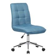 Porthos Home Mid-Back Desk Chair; Blue