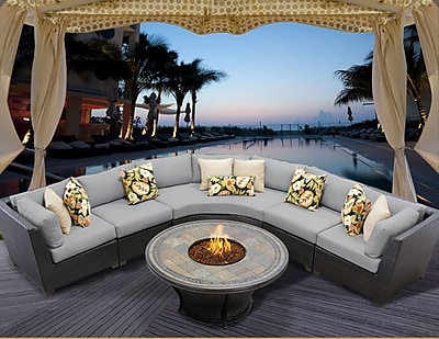 TK Classics Barbados 6 Piece Fire Pit