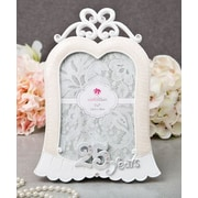 FashionCraft Stunning 25 Years Anniversary Picture Frame