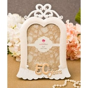 FashionCraft Stunning 50 Years Anniversary Picture Frame
