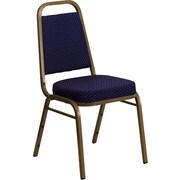 Offex Hercules Series Trapezoidal Banquet Chair; Navy