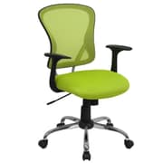 Offex Mid-Back Mesh Desk Chair; Green