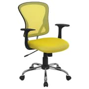 Offex Mid-Back Mesh Desk Chair; Yellow