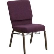 Offex Hercules Series Church Chair; Plum