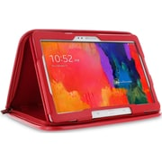 """rOOCASE Executive Case Cover For 10.1"""" Samsung Galaxy Tab 4, Red"""