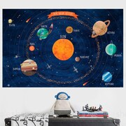 SimpleShapes Solar System Poster Wall Decal; Medium