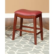 Largo Fiesta 24'' Bar Stool; Red
