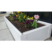 CookProducts Handy Bed Plastic Raised Garden Planter; 6'' H x 12'' W x 48'' D