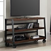 Laurel Foundry Modern Farmhouse Adams TV Stand; Mahogany