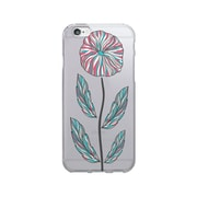OTM Prints Clear Phone Case, Single Flower - iPhone 6/6S