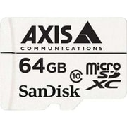 AXIS 5801 961 10 Per Pack White 64GB Class 10 MicroSDXC Memory Card for Surveillance Cameras by