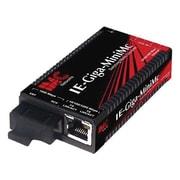 B+B Smartworx® IE-Giga-MiniMc TX/SX-MM850-SC Media Converter for IE-PowerTray