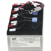 BTI™ 12 VDC UPS Replacement Battery Cartridge for APC SU1400RMXL3U UPS (RBC25-SLA25-BTI)