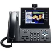 Cisco™ Unified 9971 6 Line Wireless IP Phone with Standard Handset, Charcoal