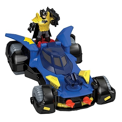 Fisher-Price Imaginext DC Super Friends Batmobile Toy (DHT64) IM14T7410
