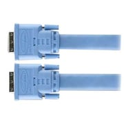 Gefen® CAB-DVIC-DLX-100MM 100' Dual Link DVI Male/Male Video Cable, Blue