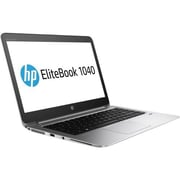"HP® EliteBook 1040 G3 14"" Notebook PC Kit, LCD, Intel i7-6600U 2.6 GHz, 256GB, 8GB, Win 7 Professional, Black/Silver"
