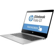"HP® EliteBook Folio G1 12.5"" Touch Notebook PC Kit, LCD, Intel m7-6Y75 1.2 GHz, 256GB, 8GB, Win 10 Pro, Black/Silver"