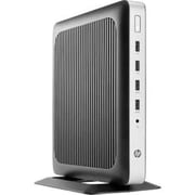 HP® t630 AMD GX-420GI Quad-Core 8GB Tower Thin Client, Black/Silver (W5Z05UT#ABA)