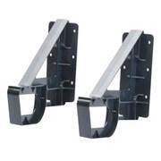 Intermec® Wall Mount Kit for 7X1B/CN3 Multidock, Black/Silver (203-641-002)