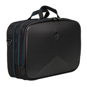 "Mobile Edge Alienware Vindicator 2.0 Ballistic Nylon Briefcase for 17.3"" Laptop, Black/Teal"