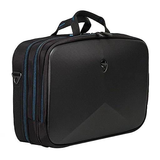 Mobile Edge Laptop Breifcase, Black with Teal Accent Nylon (AWV13BC-2.0)