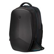"Mobile Edge Alienware Vindicator 2.0 Ballistic Nylon Backpack for 15.6"" Laptop, Black/Teal"