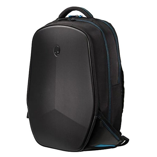 Mobile Edge Laptop Backpack, Black with Teal Accent Nylon (AWV15BP-2.0)