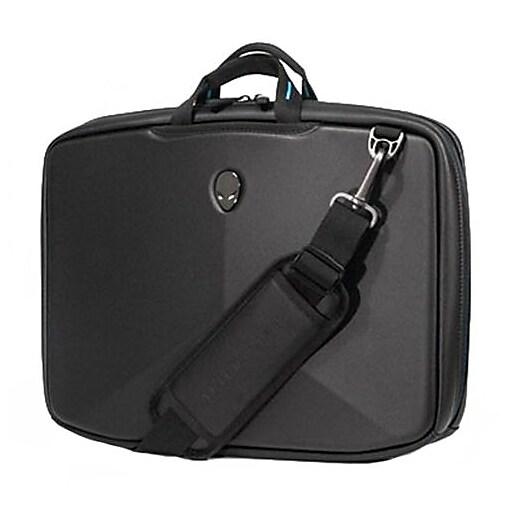 Mobile Edge Alienware Vindicator 2.0 Ballistic Nylon Slim Case for 15.6  Laptop, Black/Teal.