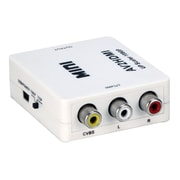 QVS® HRCA-AS Composite Audio and Video to Digital HDMI Up-Converter