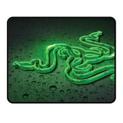 "Razer™ Goliathus Rubber Base 17.48"" x 13.98"" Speed Cosmic Edition Black/Green Large Mouse Pad, RZ02-01070300-R3M2"