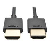 Tripp Lite P569-006 6' Slim High Speed HDMI Male/Male Audio/Video Cable, Black