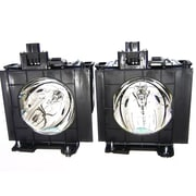 V7 VPL1721 1N Dual Replacement Projector Lamp For Panasonic Projector, 300 W by