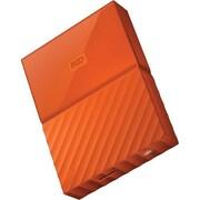 WD® My Passport WDBYFT0020BOR-WESN 2TB USB 3.0 External Hard Drive, Orange