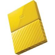 WD® My Passport WDBYNN0010BYL-WESN 1TB USB 3.0 External Hard Drive, Yellow