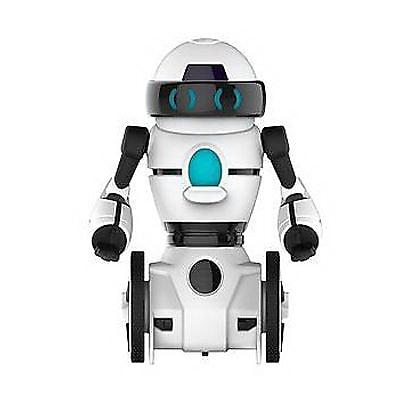 Wowwee Remote Control Mini MiP Robot, White/Black (3821) IM14T8048