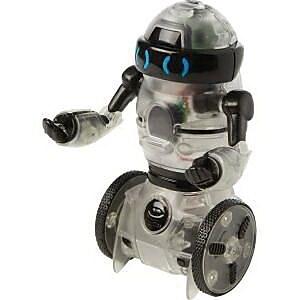 Wowwee Remote Control Mini Build Up MiP Robot, White/Black (787) IM14T8044