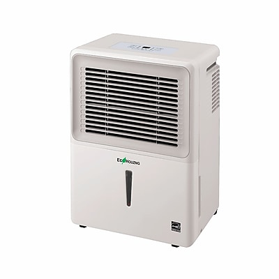 Ecohouzng ECH1050 50 Pints Energy Star Rated Portable Dehumidifiers (White) 2426551