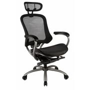 TygerClaw Professional Air Grid High Back Office Chair with Headrest (ECJ5002)