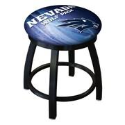 Holland Bar Stool NCAA Swivel Bar Stool; Nevada Wolf Pack