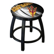 Holland Bar Stool NCAA Swivel Bar Stool; Arizona State Sun Devils with Pitchfork logo