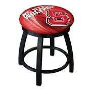 Holland Bar Stool NCAA Swivel Bar Stool; North Carolina State Wolfpack