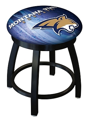 Holland Bar Stool NCAA Swivel Bar Stool; Montana State Bobcats WYF078279775216
